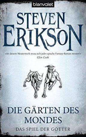 Das Spiel der Götter Die Gärten des Mondes Steven Erikson Cover Rezenzion